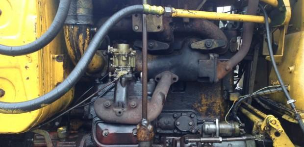 Замена двигателя бульдозера